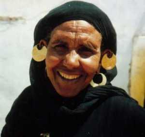 Nubische Frau - Westaswan